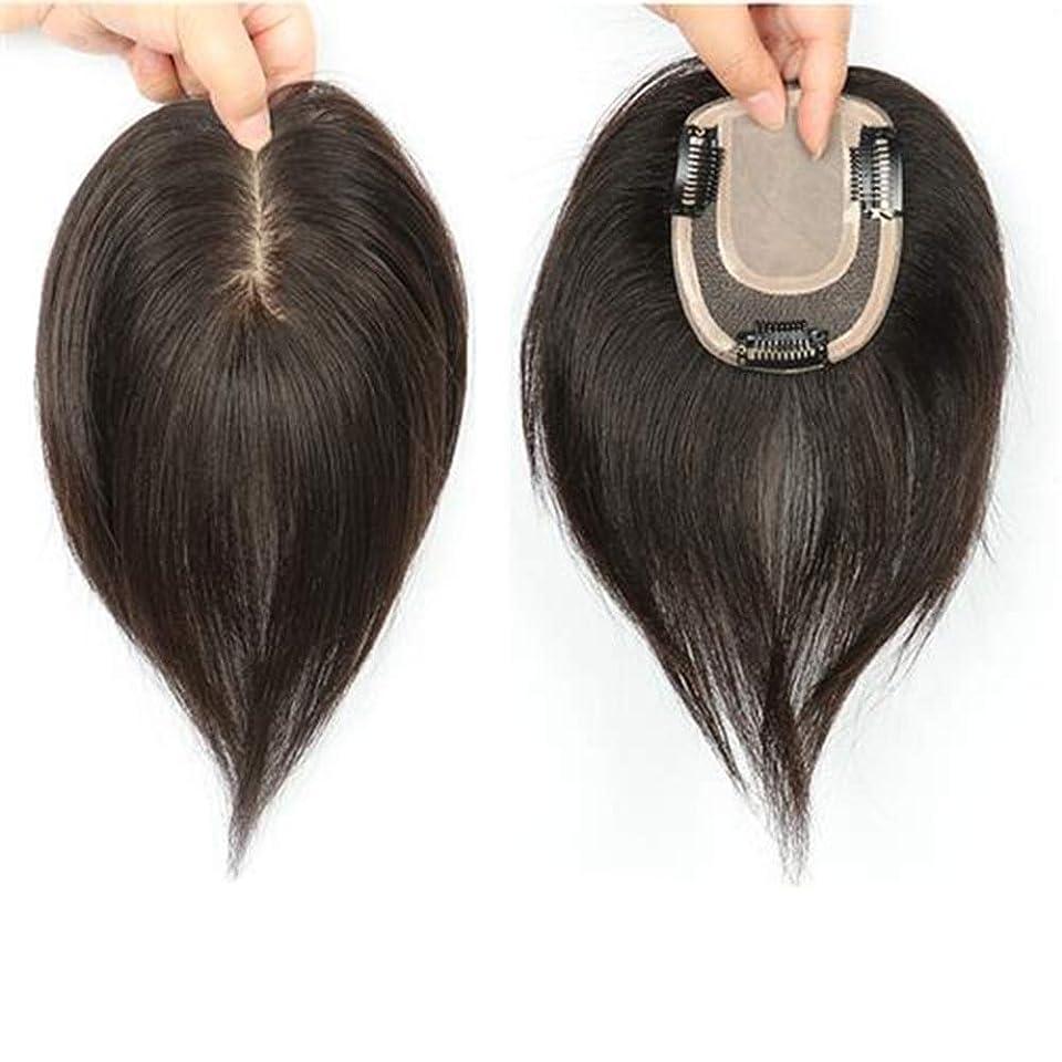 娘素晴らしい良い多くの良性BOBIDYEE 自然なロングストレートヘアフルハンドウィッグリアルヘアウィッグ女性のための人工毛レースのかつらロールプレイングウィッグロングとショートの女性自然 (色 : Natural color, サイズ : 20cm)