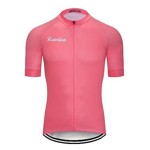 53e76a21eb0 Rsantce Pro Team 2018 MTB Men Summer Short Sleeve Bike Cycling Jersey  Clothes Bicycle Triathlon Shirt