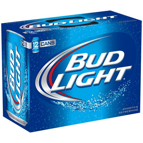 Bud Light 12 oz. (355 mL can) - 24 Pack