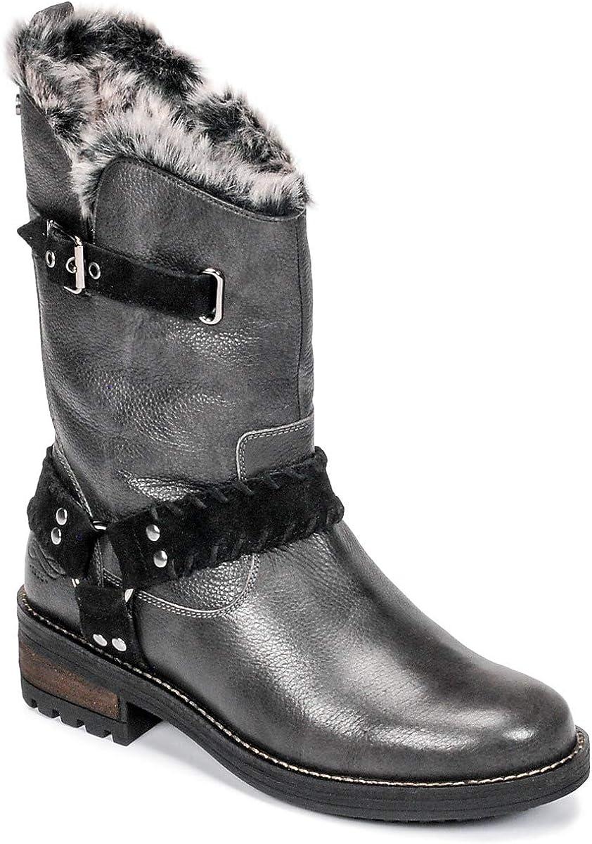 Superdry Womens Tempter Mid-Calf Boots Black