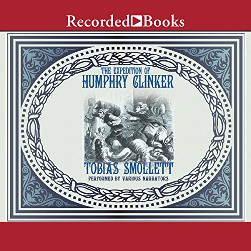 The Expedition of Humphry Clinker audiobook cover art