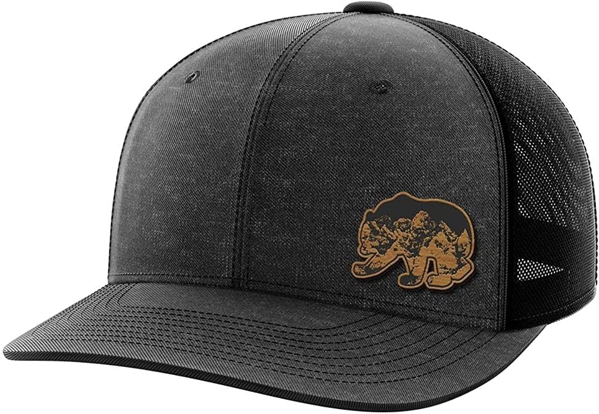 Bear Bamboo Patch Hat
