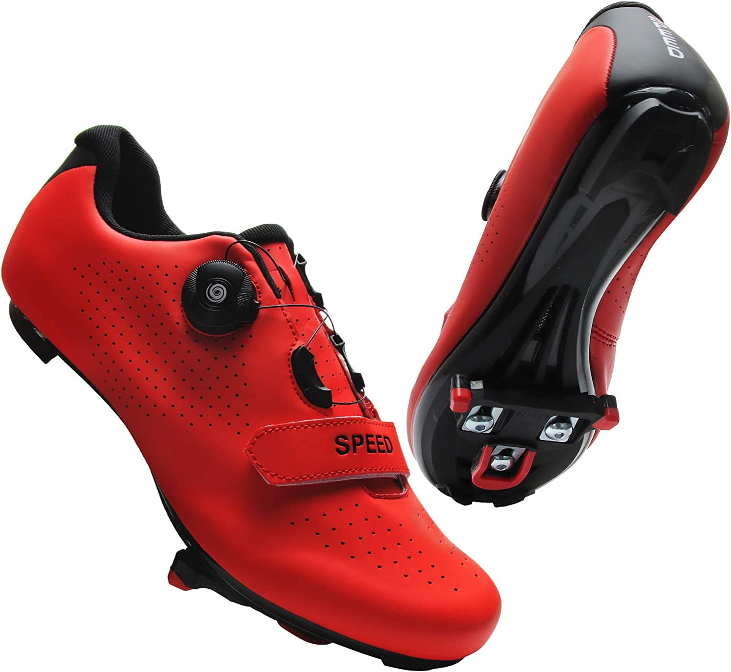 RPORNDY Mens Women Road 10%OFF 新色追加 Bike Com with Cycling Riding Shoes