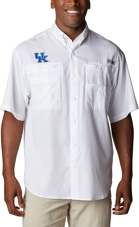 Columbia Men's Tamiami Short Sleeve Shirt, UK - White, X-Large Big