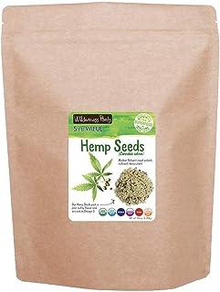 Wilderness Poets Hulled Hemp Seeds, Organic Raw Hemp Hearts (80 Ounce - 5 Pound)