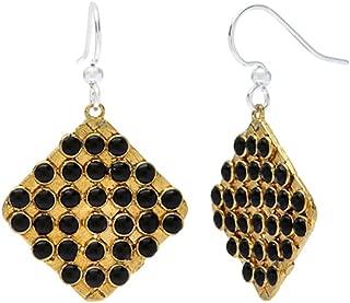 Willow House Jewelry Designed by Sara Blaine Women's Biji: Bead Grid Earrings