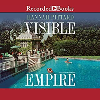 Visible Empire                   Written by:                                                                                                                                 Hannah Pittard                               Narrated by:                                                                                                                                 Robin Miles                      Length: 9 hrs and 16 mins     Not rated yet     Overall 0.0
