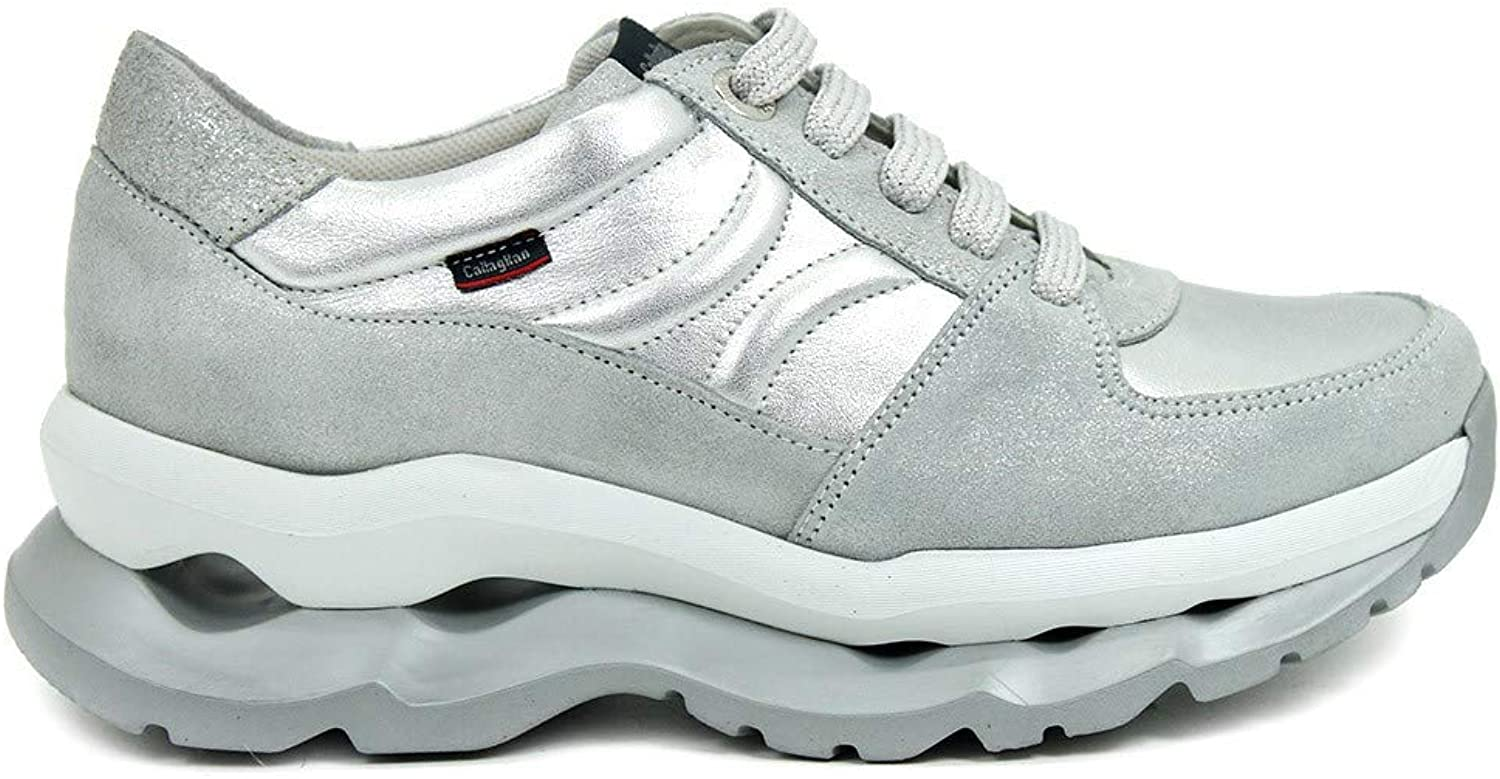 CALLAGHAN women's shoes low sneakers 18803 SILVER