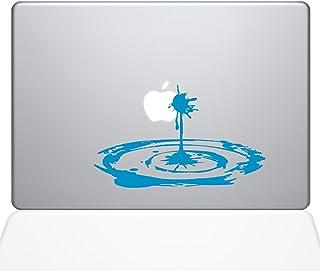 """The Decal Guru Apple Sauce Shot Macbook Decal Vinyl Sticker  - 13"""" Macbook Pro (2016 & newer) - Light Blue (1268-MAC-13X-LB)"""