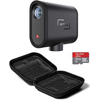 Mevo Start Live Event Camera - Bundle with 32GB MicroSDHC Memory Card, Start Case