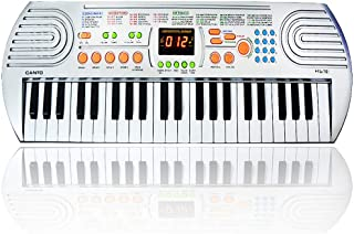 $39 Get FillADream 44 Keys Kids Piano, Multifunctional Dual Speakers Portable Electronic Standard Size Keyboard for Kids Learning and Practice
