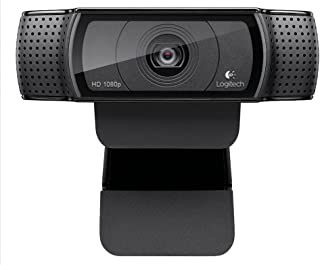Webcam - USB 2.0 - Logitech C920 HD Pro - Preta - 960-000949 / 960-000764