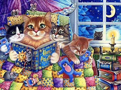 Kittens' Bedtime Jigsaw Puzzle 550 Piece