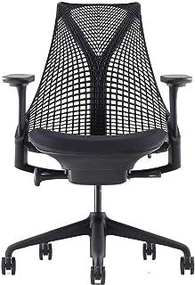 【正規品】Herman Miller (ハーマンミラー) セイルチェア オフィスチェア ブラック C7堅床キャスター 12年保証 AS1YA23HAN2BKC7BKBK9119