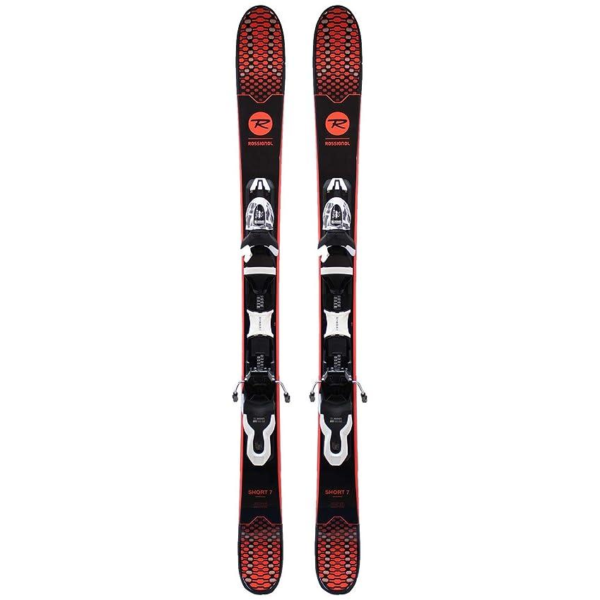 セグメント本土仮定、想定。推測ROSSIGNOL(ロシニョール) 120cm ショートスキー 2019 SHORT 7 + Xpress 10 ビンディング付 rossignol 18-19 スキー ショートセブン 【L1】