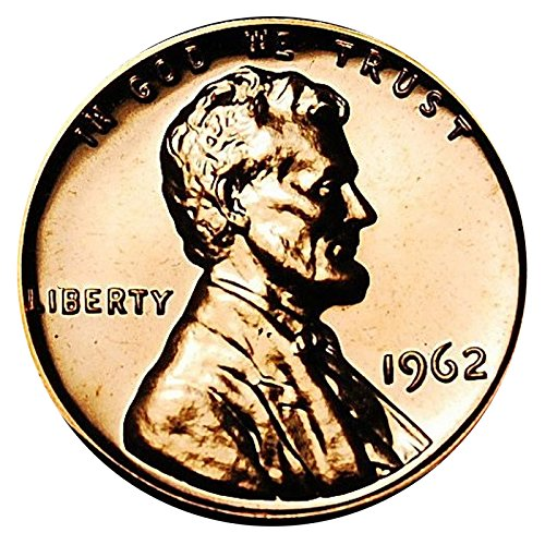 1962 Gem Proof Lincoln Memorial Cent Penny Proof US Mint