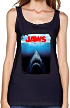 SAMSEPH Women's Jaws the Movie VS the Novel Tank Top