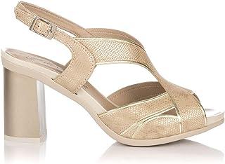 a15d5065 PITILLOS 5582 Sandalia Piel Plataforma Mujer