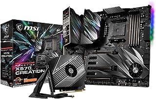 MSI Prestige X570 Creation - Placa Base Prestige (Chipset AMD X570, DDR4, Audio Boost, Intel Lan, Socket AM4, Wi-Fi, Sopor...