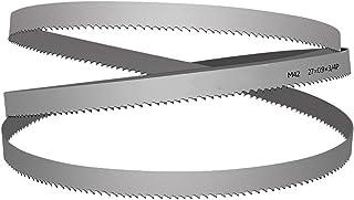 Wnuanjun 1 st HSS bandsåg kant för spånskiva (färg: Silver, storlek: 34 x 1,1 x 3700)