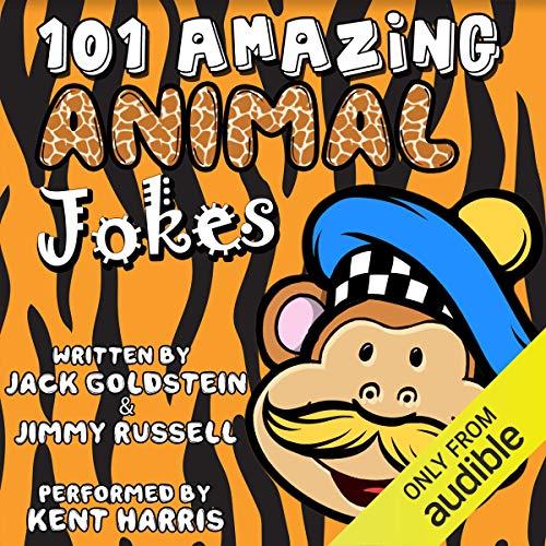 101 Amazing Animal Jokes audiobook cover art
