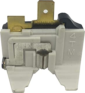 OEM Mania AuthorizedFactory Replacement 6750JA3001C overload protector for LG refrigerator compressor