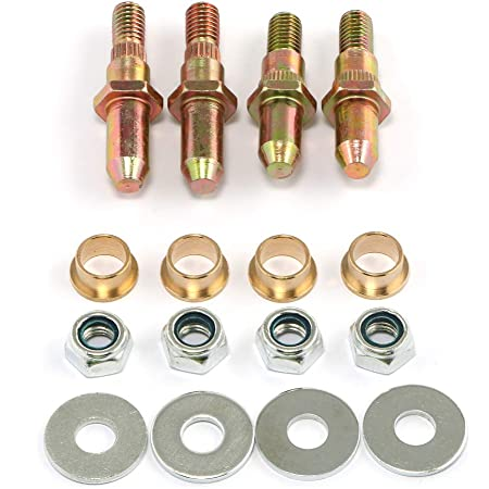 Door Hinge Pin and Bushing Repair Kits Compatible with 1999-up GMC Sierra Chevrolet Silverado Chevy Truck SUV ,Door Hinge Roller Pin Replace 38453