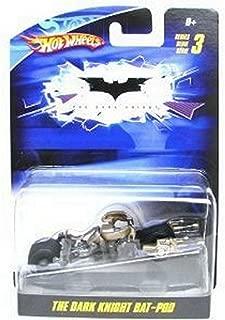Hot Wheels 1/50 Batman Car The Dark Knight Bat-Pod Diecast Vehicle
