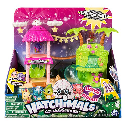Hatchimals - Isla Luminosa Playset (Bizak, 61929129)