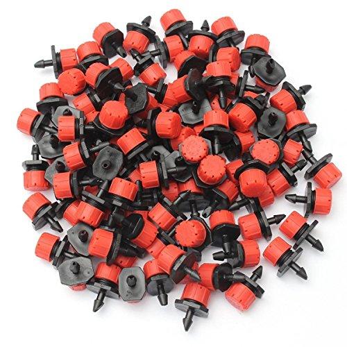 Demiawaking - Tropfer in Rot/Schwarz, Größe approx. 25*15*13mm