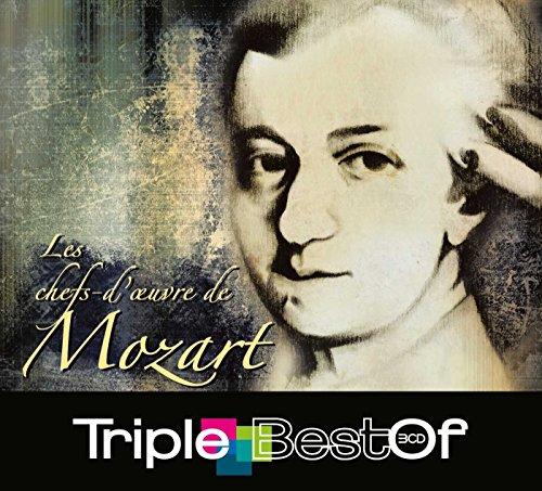 Triple Best Of : Les Chefs-d'oeuvre de Mozart (Coffret 3 CD)