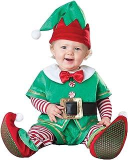 LvRaoo Unisex Baby Strampler Weihnachtself Jungen Mädchen Overalls Cosplay Halloween Weihnachten Kostüm