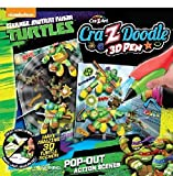 Crazy Art Doodle 3D Pen Pop Out Teenage Mutant Ninja Turtles