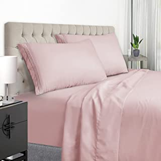 YumHome Queen Size Sheets Set - Extra Soft Luxury Brushed Microfiber Queen Bed Sheets with 15 inch Deep Pocket - Comforter...