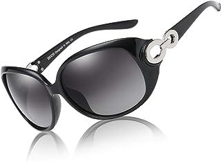 Sponsored Ad - Duco Polarized Sunglasses for Women Retro Frame Sun Glasses Vintage Shades UV Protection 1220