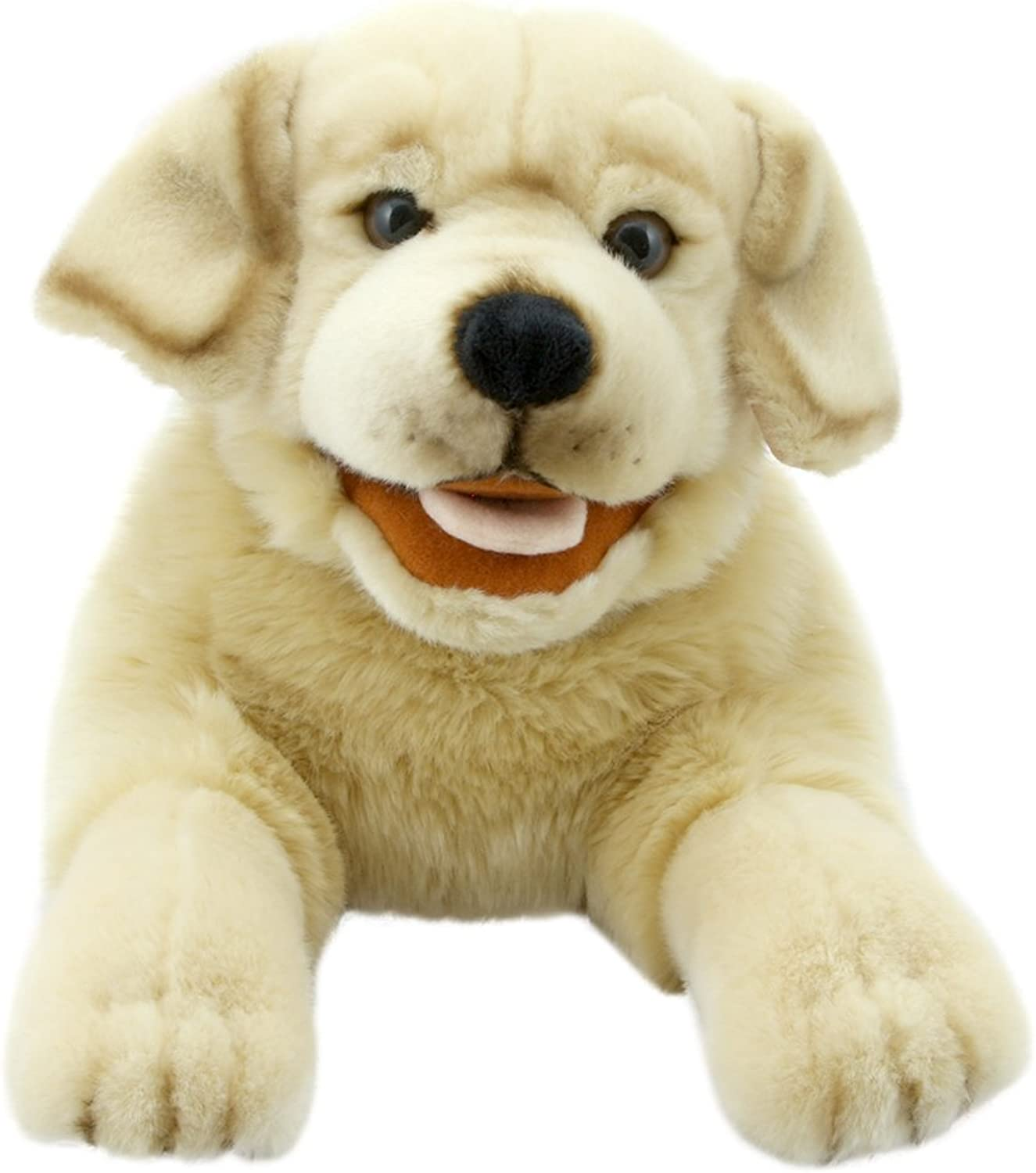 The Puppet Company PC003009 Playful Puppies Labrador, Yellow
