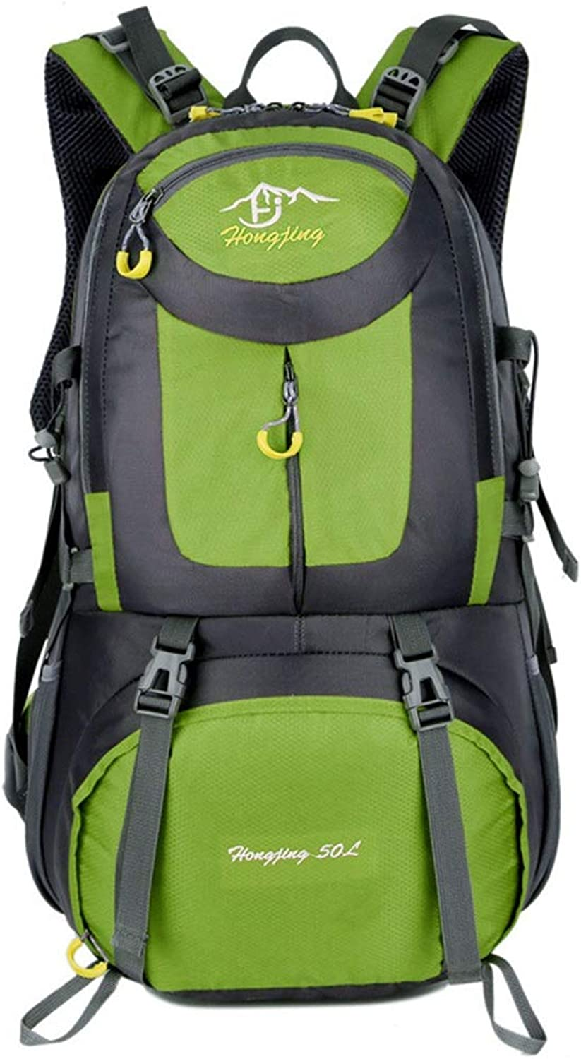 f2c345b7f Backpacks MultiFunctional Waterproof Hiking Backpack Lightweight 50L Travel  Mountaineering Camping Fishing Daypack (color Green,