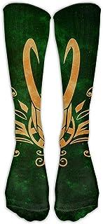 Lsjuee Loki 'S Army Calze lunghe comode unisex Calze sportive Calze al ginocchio
