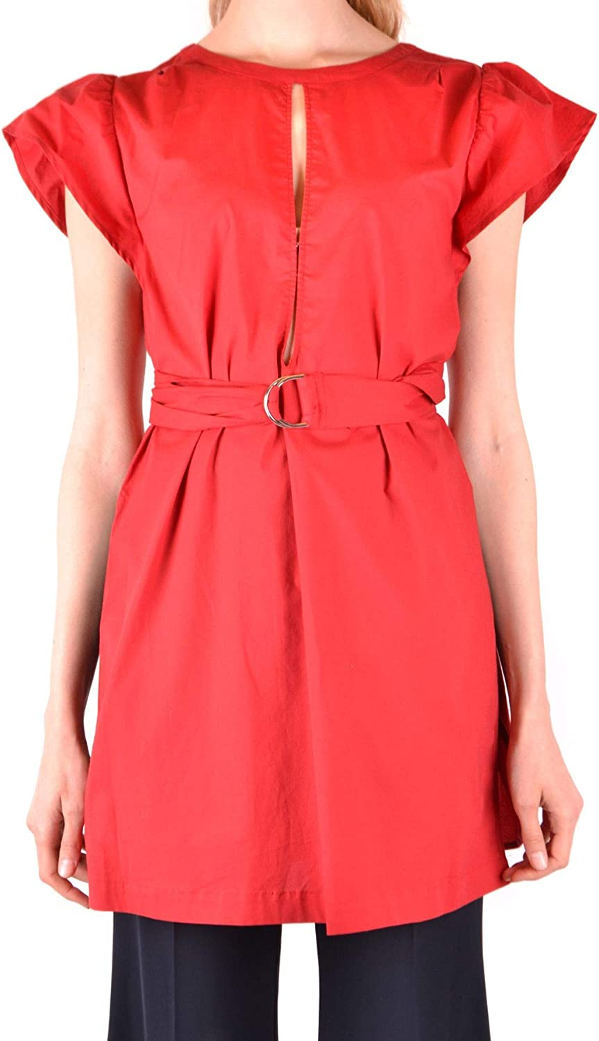 TwinSet Women's MCBI37868 Red Cotton Dress