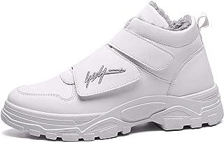 CCTV Boots Homme Courts Imperméables Presse à Motifs, Boots Classiques Mi-Mollet Omni-Heat Bottes de Neige Doublure Chaude...