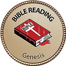 Keepsake Awards Genesis Bible Reading Award, 1 inch Dia Gold Pin Bible Reading Achievements Collection