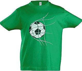 Urban Backwoods Football Goal Niños Chicos Kids T-Shirt