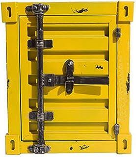 QWERTYUIOP Armoire en Métal De Fer Maison Créative Chevet Petite Armoire De Bureau De Rangement Casier à Vent Industriel C...