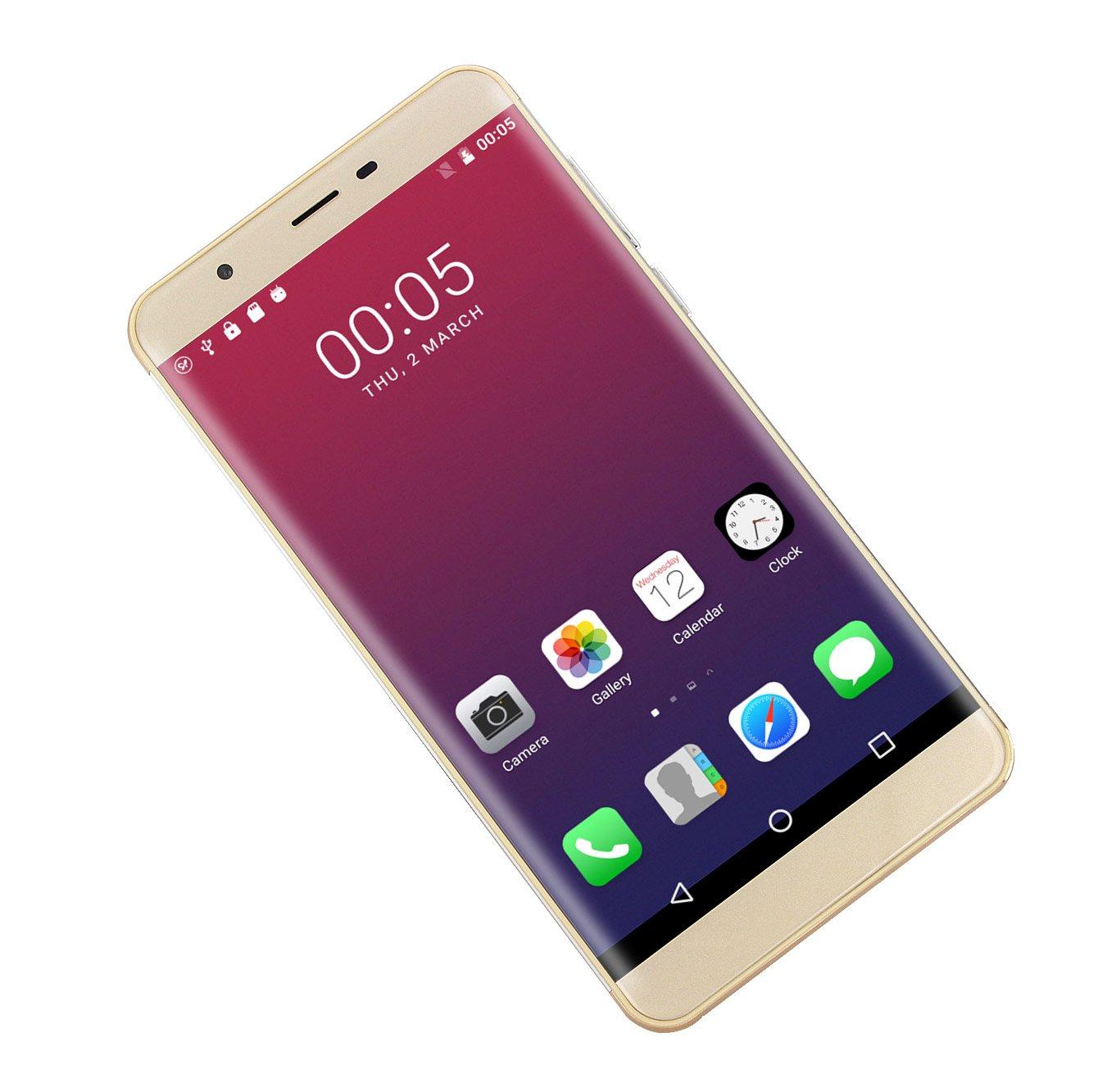 SORAKA Smartphone Libre 6.0 Pulgadas gsm 3G Android 6.0 Quad Core ...