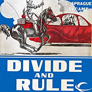 Divide and Rule audiobook cover art