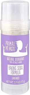 Primal Pit Paste All-Natural Deodorant - Aluminum & Paraben Free - Lavender Deodorant Stick