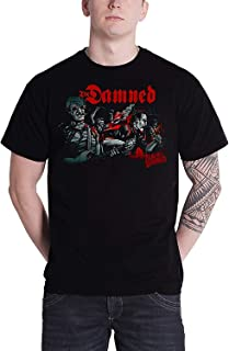 TOPOI The Damned T Shirt Realm Of The Damned メンズ Tシャツ キャラクターTシャツ 映画Tシャツ 男女兼用 個性派