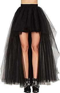 Oliveya Womens Petticoat Tulle Skirt Ballet Bubble Tutu Multi-Colored