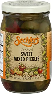 Best sechler's candied sweet mixed pickles Reviews