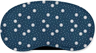 Kawaii Winter Snowflakes Sleeping Mask - Sleeping Mask